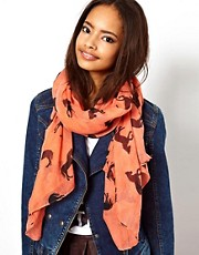 ASOS Horse Print Scarf