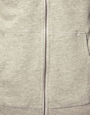 Image 3 ofASOS Zip-Through Hoodie