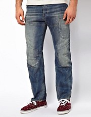 G Star Jeans Skiff Elwood 3D Loose Fit Medium Aged