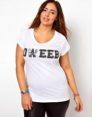 Camiseta con estampado Dweed de New Look Inspire