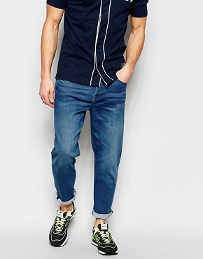 Waven Jeans Oskar Tapered Fit Hemp Blue