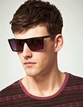 Image 3 of ASOS Flat Brow Sunglasses