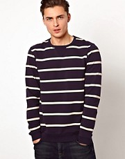 ASOS Stripe Sweatshirt