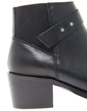 Image 2 ofWhistles Dark and Stormy Western Ankle Boots