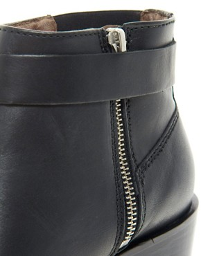 Image 3 ofWhistles Dark and Stormy Western Ankle Boots