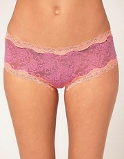Kinky Knickers Scalloped Lace Hipster Knickers