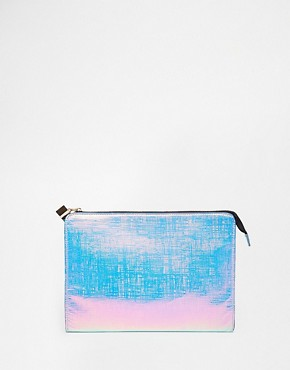 ASOS Zip Top Clutch Bag