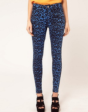 Image 1 ofMotel Jordan Jeans Leopard