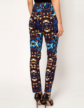 Image 2 ofASOS Jewel Print Trousers