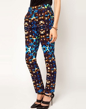 Image 4 ofASOS Jewel Print Trousers