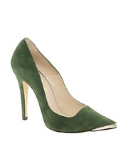 Ganni Marina Pointed Court Shoes
