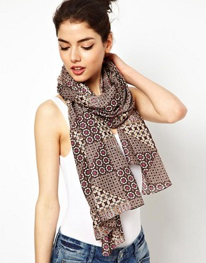 Image 1 ofASOS Geometric Scarf