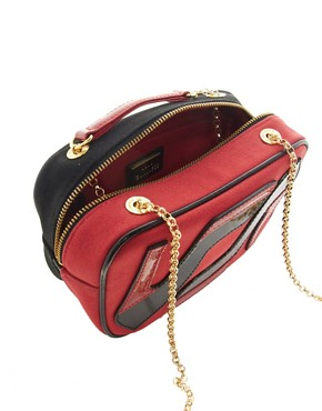 Image 2 ofLulu Guinness Leather Small Chain Emily Bag