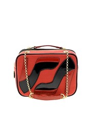 Lulu Guinness Leather Small Chain Emily Bag