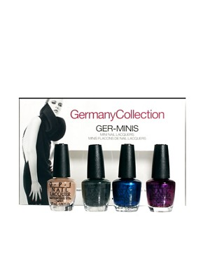 Image 1 ofO.P.I Limited Edition Germany Collection Mini Collection