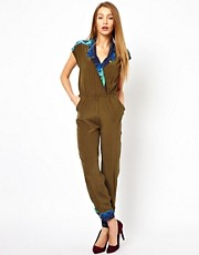 Whitney Eve Tomeri Jumpsuit In Silk