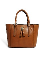Karen Millen Ultimate Leather Small Tote Bag