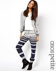 ASOS PETITE Exclusive Sweatpants In Stripe