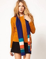 Alice Hannah Stripe Scarf