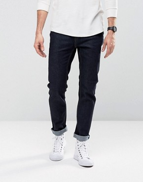 Cheap Monday Jeans Sonic Slim Fit Rinse Blue