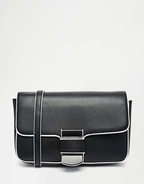 ASOS Cross Body With Front Tab Detail