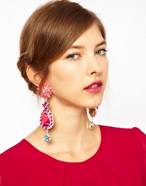 Image 2 ofASOS Bird Doorknocker Earrings
