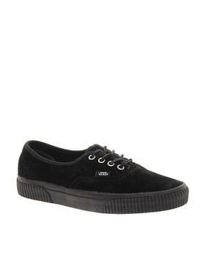 Image 1 ofVans California Authentic Hiker CA Black Lace Up Trainers