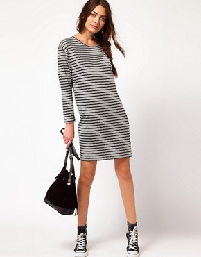 Image 4 ofPaul by Paul Smith Striped Jersey Mini Dress