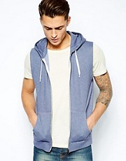 ASOS Sleeveless Hoodie