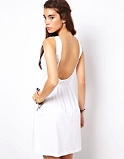 ASOS Mini Sundress Dress With Scoop Back