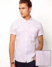 ASOS Oxford Shirt With Stripe