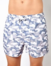 Native Youth Camo Bandana Swim Shorts