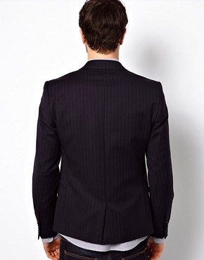 Image 2 ofVito Pinstripe Blazer