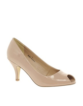 Image 1 of ASOS SUGAR PIE Heels with Peep Toe