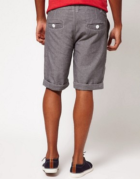 Image 2 ofBellfield Shorts with Chambray Tie