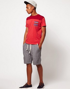Image 4 ofBellfield Shorts with Chambray Tie