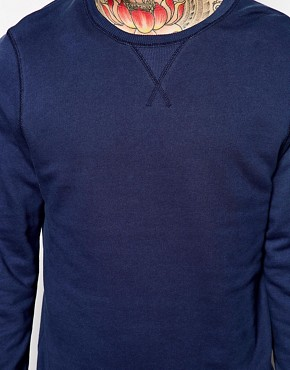 Image 3 ofASOS Sweatshirt With Crew Neck
