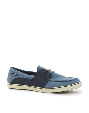 Image 1 ofDiesel Goodtime Malory Canvas Boat Shoes