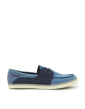 Image 4 ofDiesel Goodtime Malory Canvas Boat Shoes