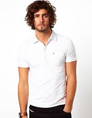 Diesel Polo T-Sunnen Contrast Collar