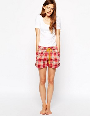 Dkny DKNY Plaid Short (Green)