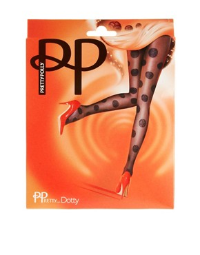 Image 3 ofPretty Polly Dotty Tights