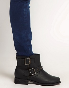 Image 3 ofNew Look Bubble Biker Boots