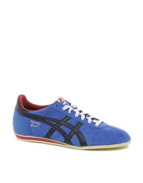 Image 1 ofOnitsuka Tiger Runspark Suede Trainers