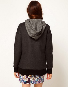 Image 2 ofASOS Africa Hooded Jacket with Detachable Gilet