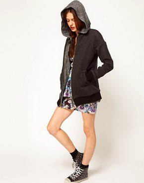 Image 4 ofASOS Africa Hooded Jacket with Detachable Gilet