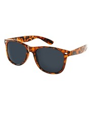 ASOS Tort Wayfarer with Black Lens