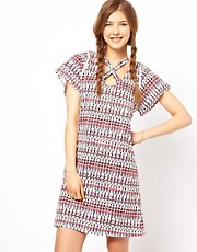 People Tree by Peter Jensen Soldier Print Dress