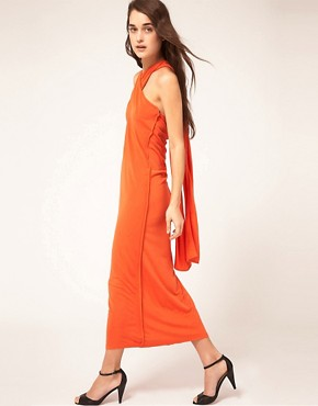 Image 4 ofKore by Sophia Kokosalaki Cross Halter Tie Dress
