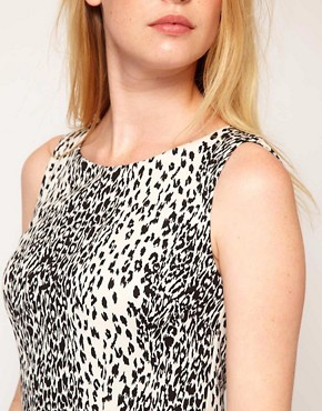 Image 3 ofOasis Animal Print Pepulm Top